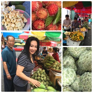 Love fresh fruit shopping whenever I am in Asia. Jackfruit is known as the queen of fruits is my all time favourite fruit.