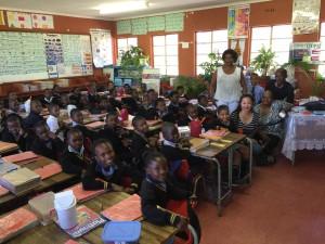 Grade 3 kids in the MiniChess program!