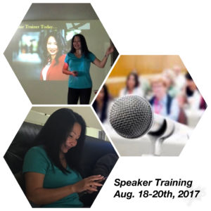 Speaker Training
