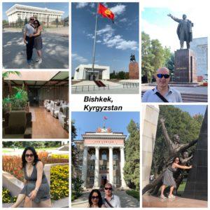 Bishkek, Kyrgyzstan collage