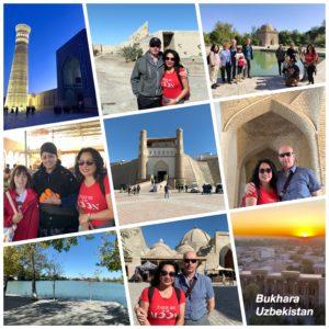 Bukhara, Uzbekistan Collage