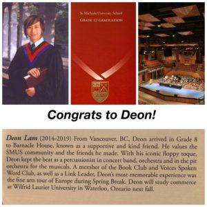 Deon's Grad - SMUS